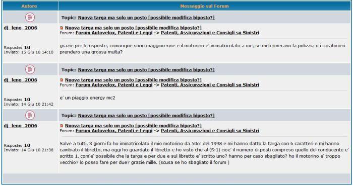 dj Leno in Italia mesaggio di mille grazie